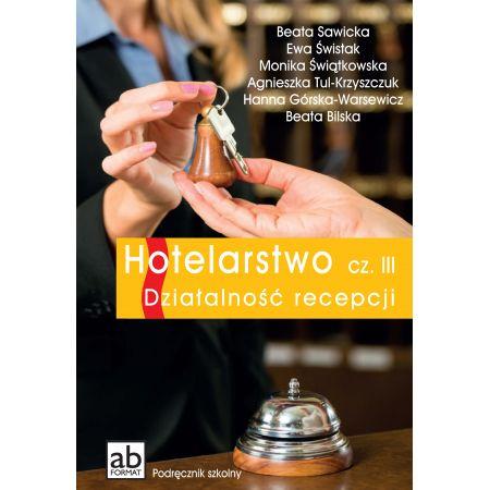 Hotelarstwo cz. III Działalność recepcji FORMAT-AB