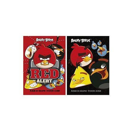 Album do naklejek Angry Birds