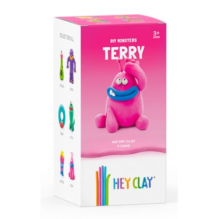 Hey Clay. Masa Plastyczna. Terry