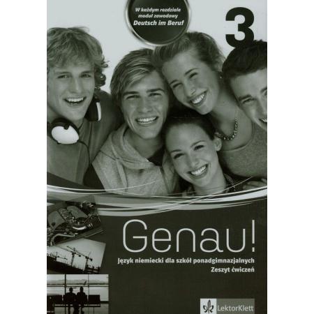 Genau! 3. Język niemiecki. Zeszyt ćwiczeń + CD dla liceum i technikum