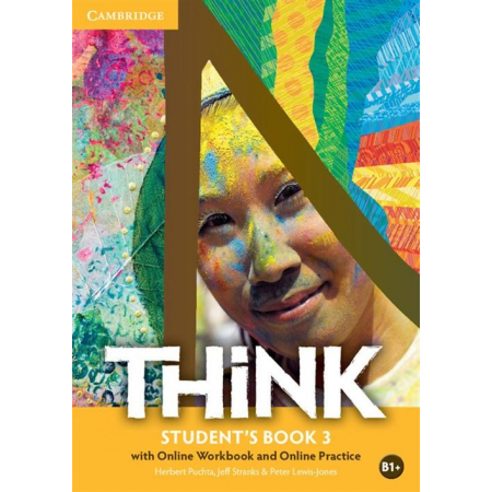 Think 3. Student's Book with Online Workbook AND Online Practice
