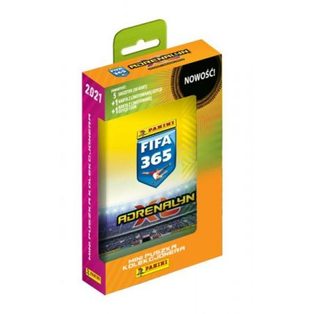 Karty FIFA 365 2021 Adrenalyn XL Mini puszka kolekcjonera 00847 PANINI