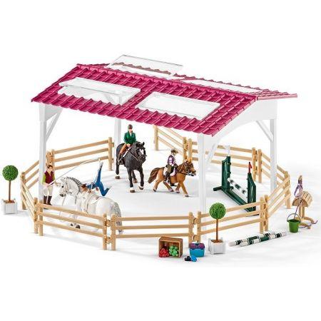 Zestaw - Szkoła jeździecka z jeźdźcami i końmi