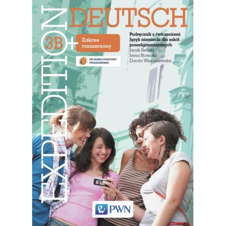 Język niemiecki Expedition Deutsch 3B podręcznik z ćw. LO / zakres rozszerzony
