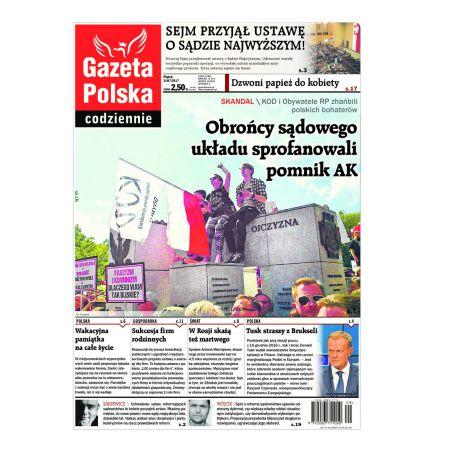 Gazeta Polska Codziennie 168/2017