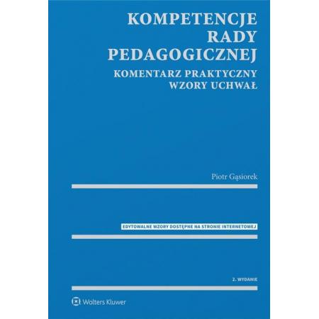 Kompetencje rady pedagogicznej