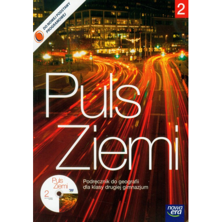 Puls ziemi Geografia Gimnazjum kl. 2 podręcznik + CD NE*