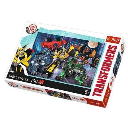 Puzzle 100 Transformers Drużyna Autobotów