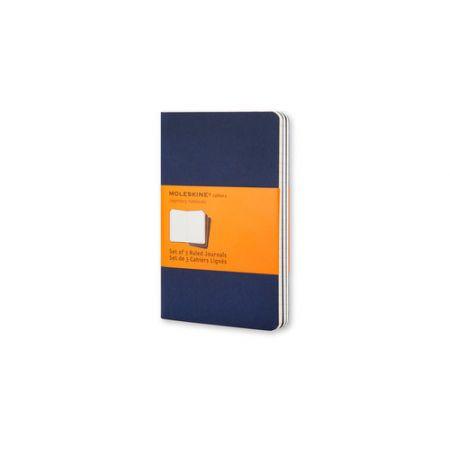 Zestaw 3 zeszytów Cahier Journals 13x21 linia