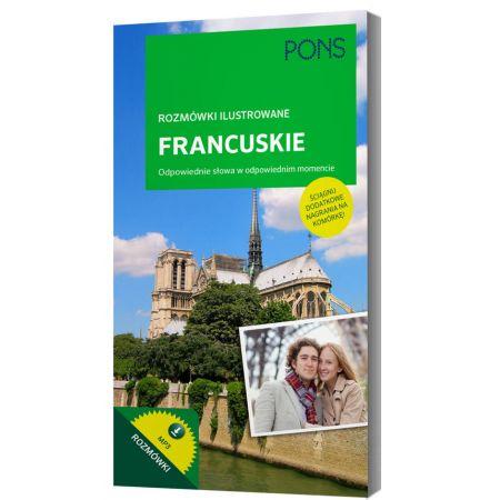 Rozmówki ilustrowane audio - francuskie PONS