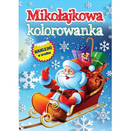 Mikołajowa kolorowanka