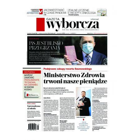 Gazeta Wyborcza - Warszawa 118/2020