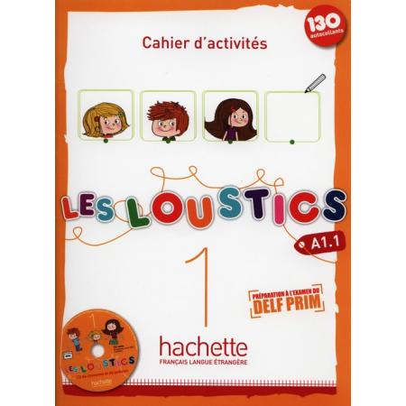 Les Loustics 1 ćwiczenia + CD HACHETTE