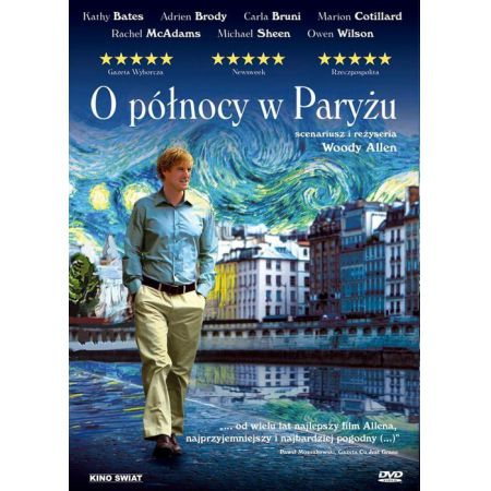 O północy w Paryżu DVD