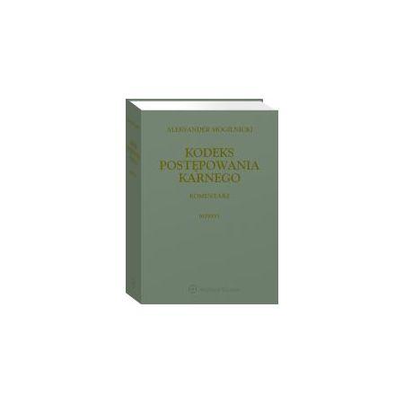 Kodeks postępowania karnego. Komentarz. Reprint