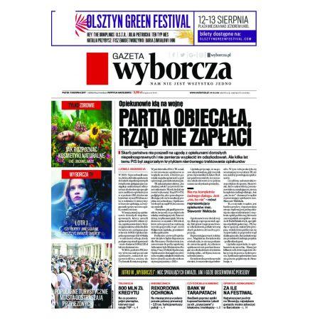 Gazeta Wyborcza - Olsztyn 187/2017