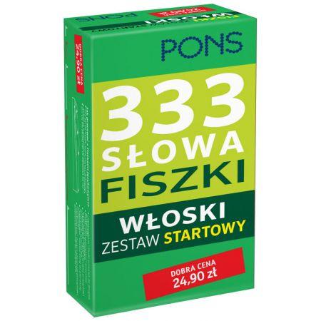 333 Słowa Fiszki. Włoski Zestaw startowy PONS