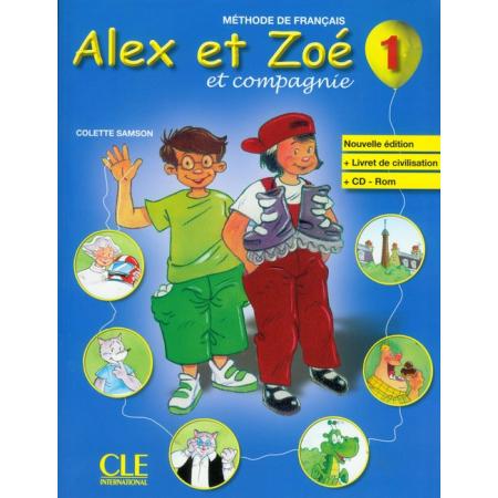 Alex et Zoe 1 Methode de francais Nouvelle ed. CLE