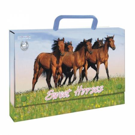 Teczka z rączką A4 Horses