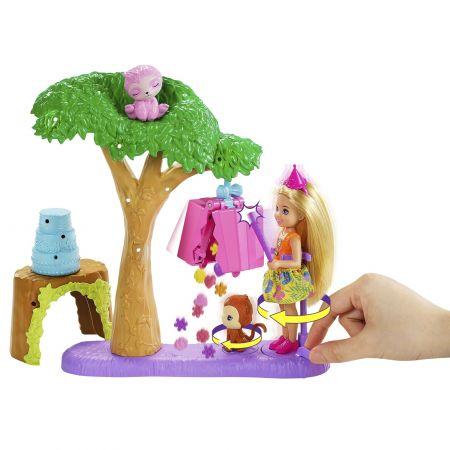 Lalka Barbie. Chelsea Urodziny z niespodzianką