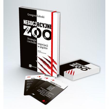 Pakiet: Negocjacyjne zoo (książka + karty)