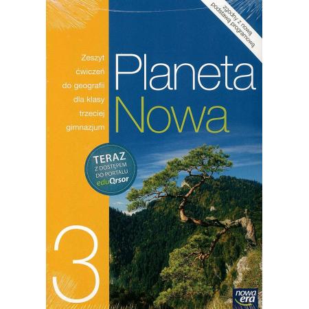 Geografia GIM KL 3. Ćwiczenia. Planeta nowa + kod eduQrsor (2014)