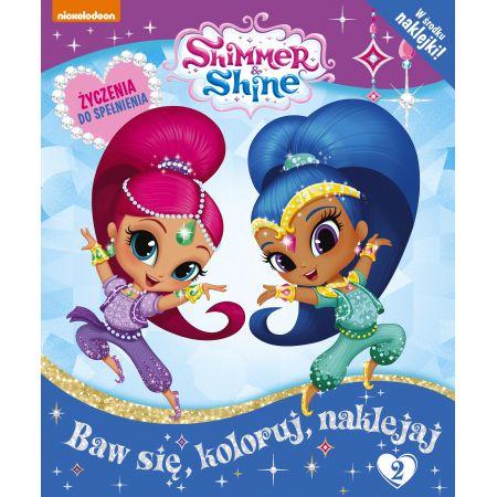 Shimmer & Shine + naklejki nr 2
