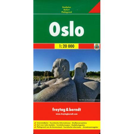 Oslo plan miasta 1:20 000
