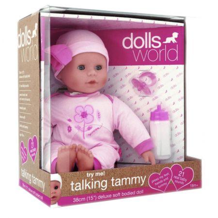 Lalka bobas. Talking Tammy 38 cm