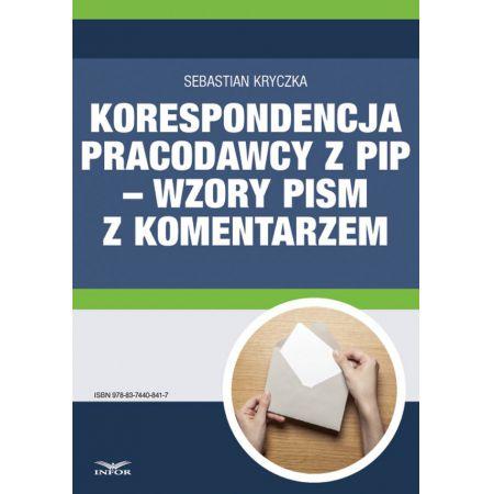 Korespondencja pracodawcy z PIP - wzory pism z komentarzem