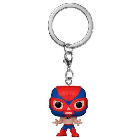Funko POP Keychain: Marvel Luchadores - El Aracno (Spider-Man)