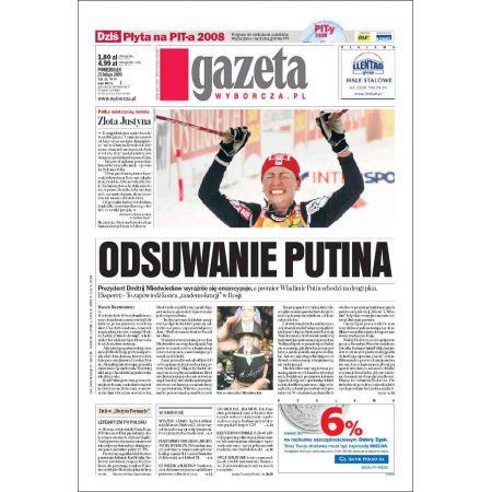 Gazeta Wyborcza - Warszawa 45/2009