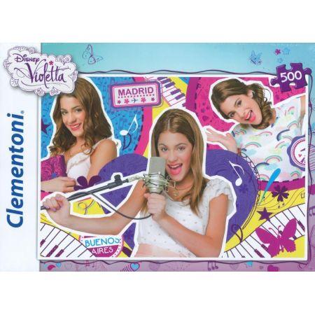 Puzzle 500 violetta 1/30414/