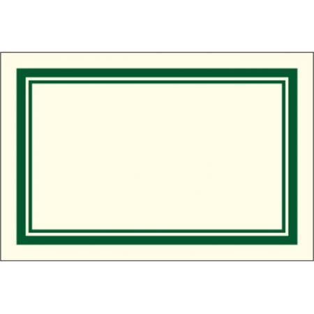 Naklejki dekoracyjne ETK 029 Zielone 6szt ROSSI