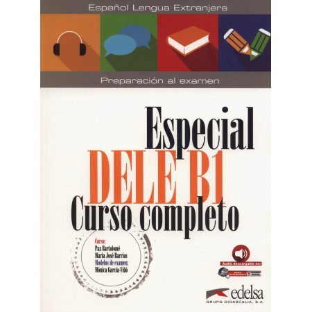 Especial DELE B1 Curso completo + audio