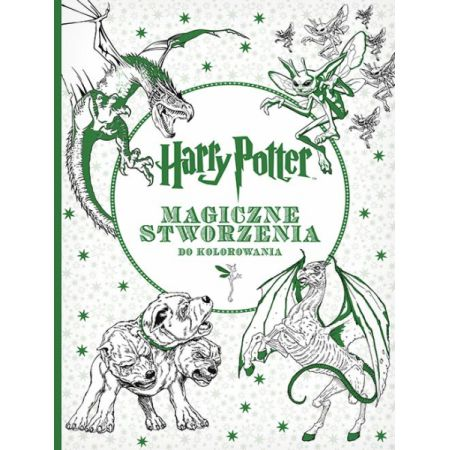 Harry Potter. Magiczne stworzenia do kolorowania