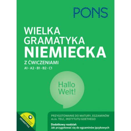 Wielka gramatyka niemiecka z ćwiczeniami PONS
