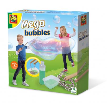 Zestaw Mega bańki mydlane