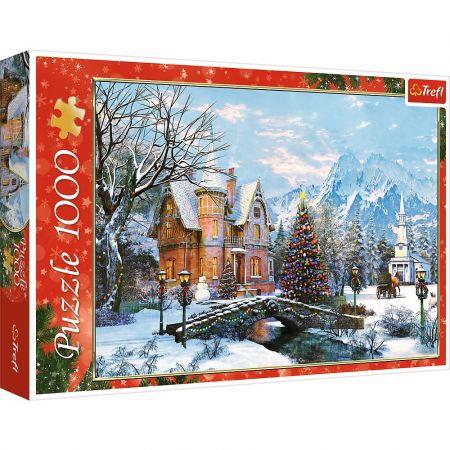 Puzzle 1000 Zimowy krajobraz
