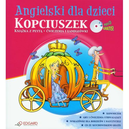 Kopciuszek angielski dla dzieci + CD