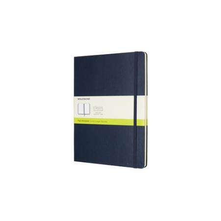 Notes Classic 19x25 tw. gładki- szafirowy MOLESKIN