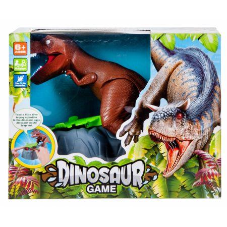 Gra Dinozaur na baterie MEGA CREATIVE 459833