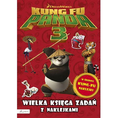 Dream Works. Kung Fu Panda 3. Wielka księga zadań z naklejkami