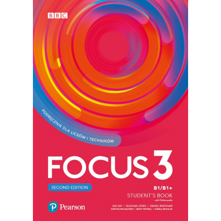Focus 3 2ed. SB B1/B1+ Digital Resources PEARSON