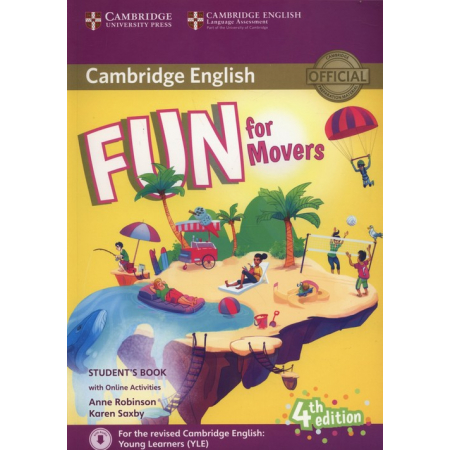 Fun for Movers Student's Book + Online Activities