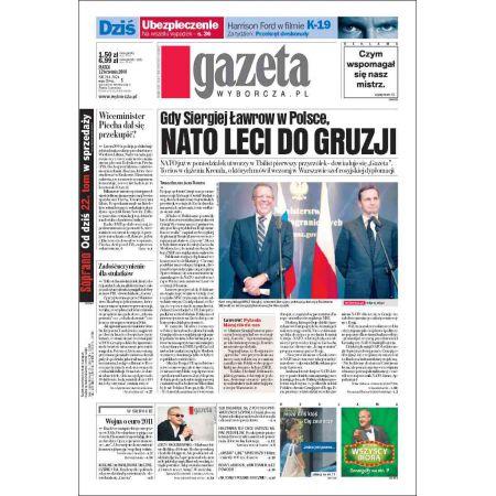 Gazeta Wyborcza - Częstochowa 214/2008