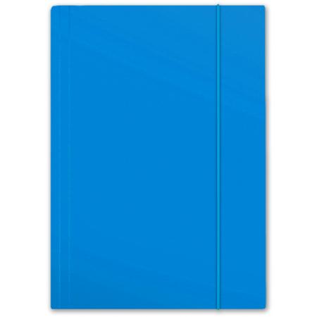 Teczka z gumką A4 Plus Top błękitna PENMATE
