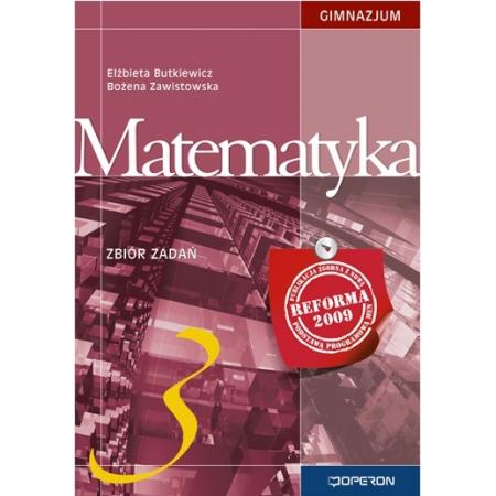 Matematyka GIM 3 ZB OPERON