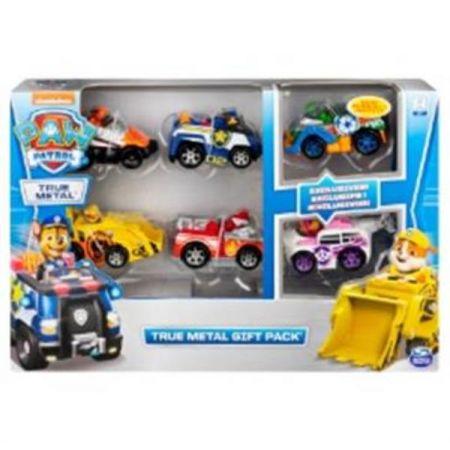 PAW PATROL / PSI PATROL Zestaw 6 samochodów 6058350 p5 Spin Master