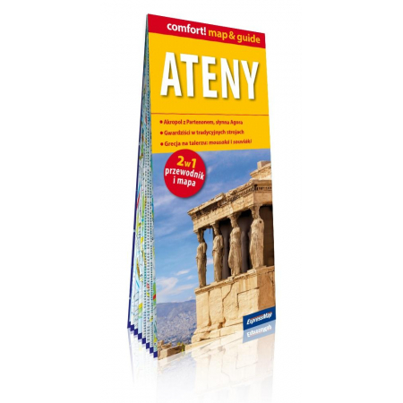 Comfort! map&guide Ateny 2w1
